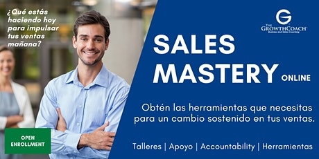 Sales Mastery Online by The Growth Coach PR boletos