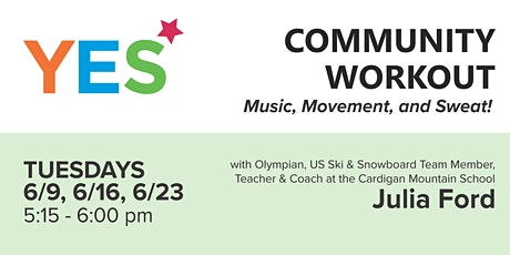 YES Community Workout tickets