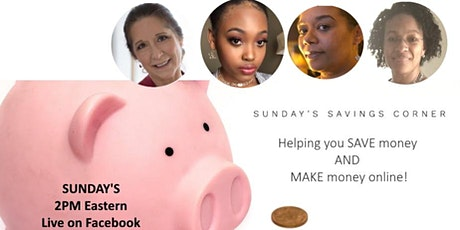 Sunday Savings Corner tickets