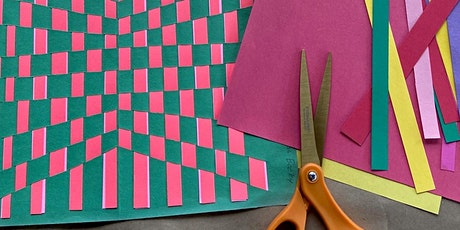 WaterWorks Virtual Art Camp: Op Art Paper Weaving with Jenny Bradley tickets