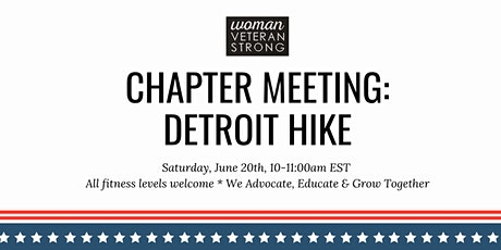Detroit Hike: Woman Veteran Strong tickets