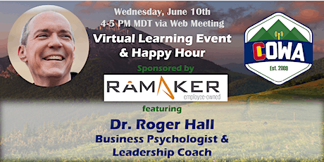 COWA Virtual Learning Event and Happy Hour tickets