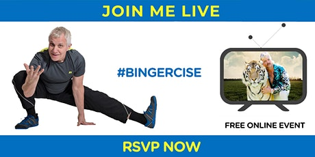 Bingercise | Workout While You Binge-Watch Your Fav Shows tickets
