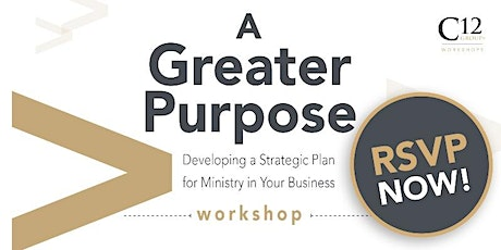 A Greater Purpose Workshop tickets