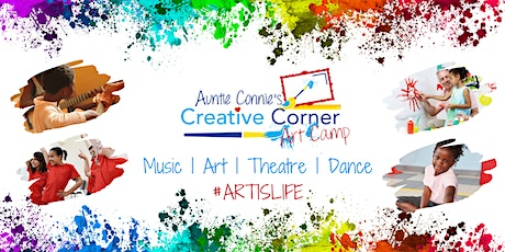 Creative Corner Virtual Art Camp : Session 2 - July 13 to July 17 tickets