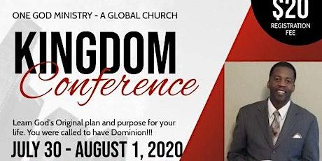 Atlanta Kingdom Conference tickets