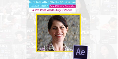 Intro into After Effects: 3D Layering, with Reel Stories on Zoom! tickets