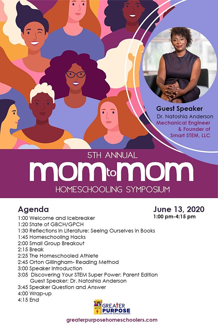 Mom to Mom Homeschooling Symposium image