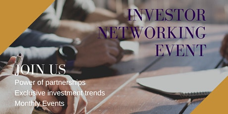 Investor Networking Event tickets