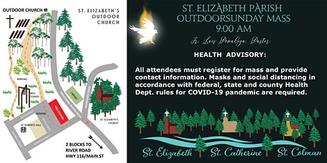 9:000 AM Mass St. Elizabeth Outdoor Church tickets