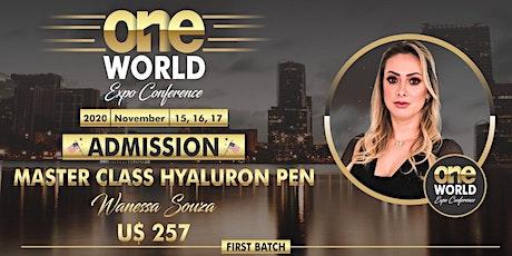 Master Class - Wanessa Souza - Hyaluron Pen tickets