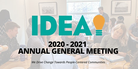 IDEA's Annual General Meeting tickets