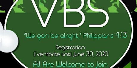 True Gospel Tabernacle Baptist Church Vacation Bible School Registration tickets