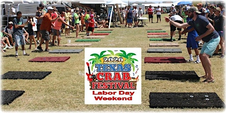 2020 Texas Crab Festival Washers Tournament tickets