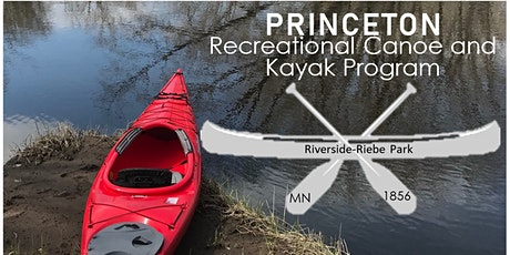 Princeton Recreational Canoe and Kayak Program tickets
