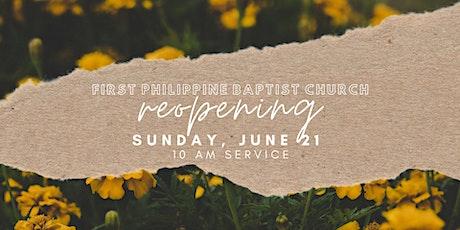 FPBC Sunday Worship Service tickets