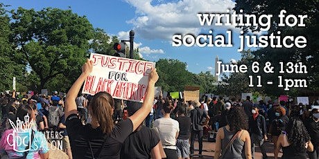DC Writers' Salon: Writing For Social Justice tickets