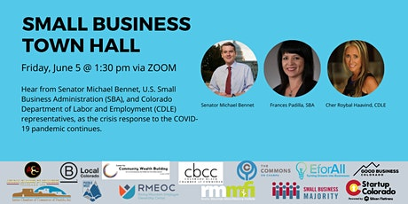 Small Business Town Hall with U.S. Senator Michael Bennet tickets