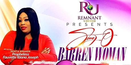 Sing O Barren Woman tickets