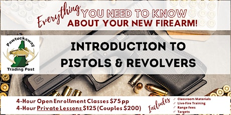 Introduction to Pistols and Revolvers tickets