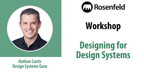 UX Workshop: Designing for Design Systems tickets