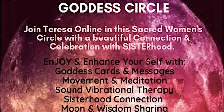 Online GODDESS CIRCLE Full Moon  & Lunar Eclipse tickets