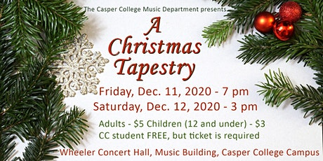 A Christmas Tapestry tickets