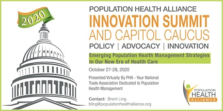 PHA Innovation Summit and Capitol Caucus 2020 tickets