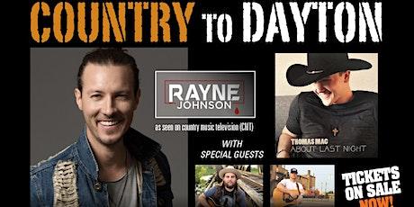 Rayne Johnson tickets