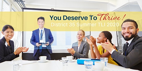 D35 2020 Summer Toastmasters Leadership Institute tickets