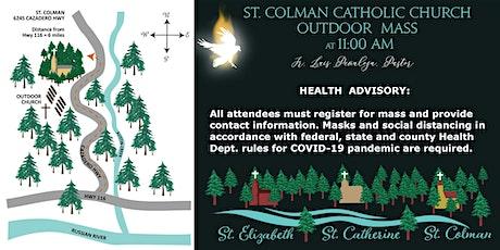 11:00 AM Mass at St. Colman Outdoor Church tickets
