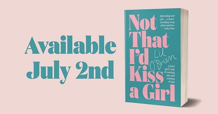 'Not That I'd Kiss A Girl' Book Launch image