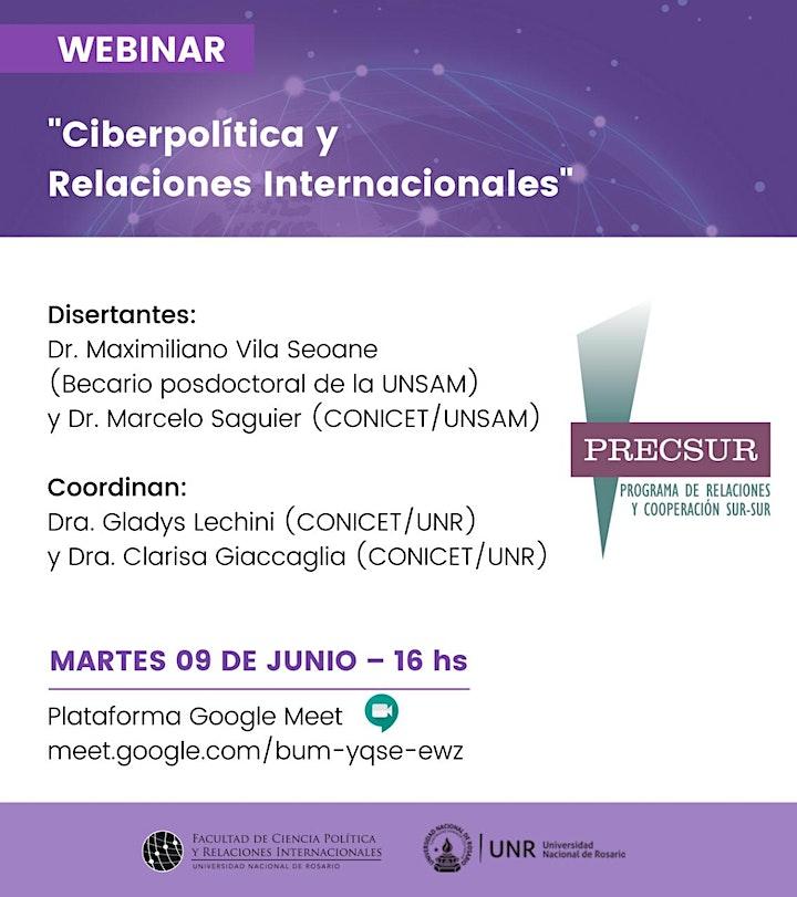 """Imagen de """"Ciberpolítica y Relaciones Internacionales"""""""