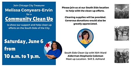 South Side Community Clean Up tickets