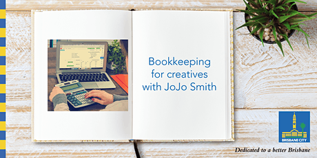 Live stream: Bookkeeping for creatives with JoJo Smith tickets