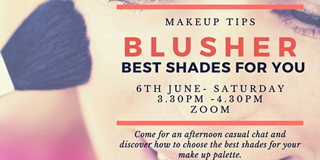 Choosing The Right Makeup Colours tickets