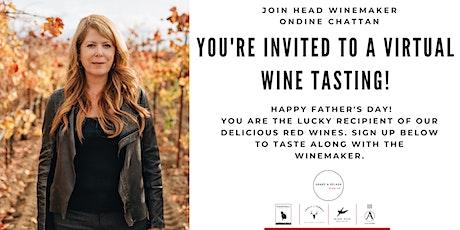 Virtual Wine Tasting with Winemaker Ondine Chattan tickets