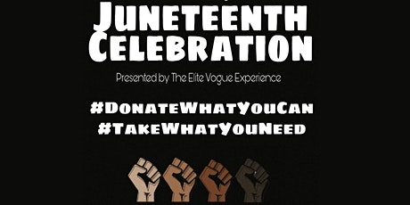 Justice for George. Juneteenth Celebration tickets