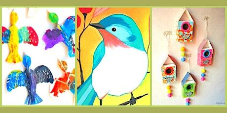 Kid's Summer Art Camp: Bird Watching! tickets