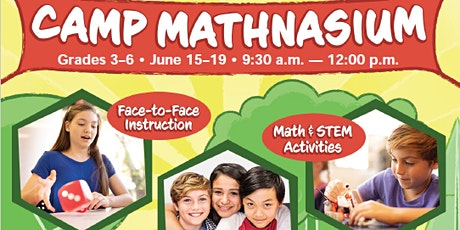 Camp Mathnasium (Grades 3-6) tickets