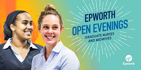 Epworth Open Evenings – Graduate Nurses and Midwives tickets