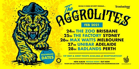 The Aggrolites - Reggae Now! Australia 2020 tickets