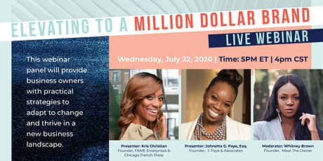 Pivot to Power: Elevating to a Million Dollar Brand tickets