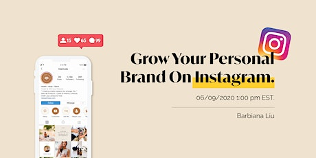 Grow Personal Brand On Instagram tickets