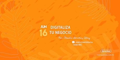 Digitaliza Tu Negocio tickets