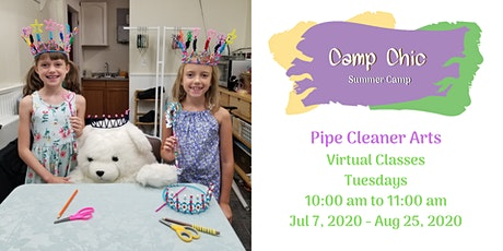 Virtual Summer Camp: Pipe Cleaner Arts tickets