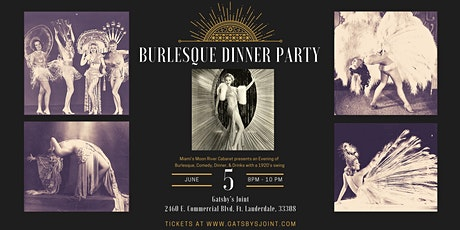 Burlesque Dinner Party at Gatsbys Joint tickets