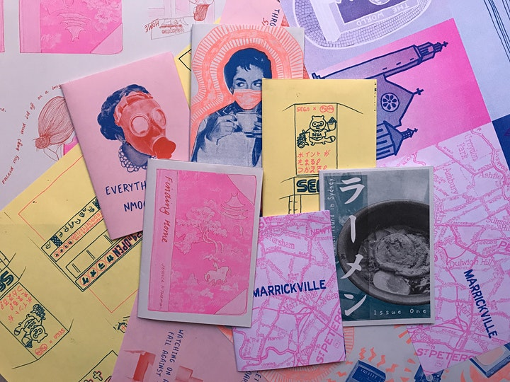 *ONLINE* Zine-making with The Rizzeria image