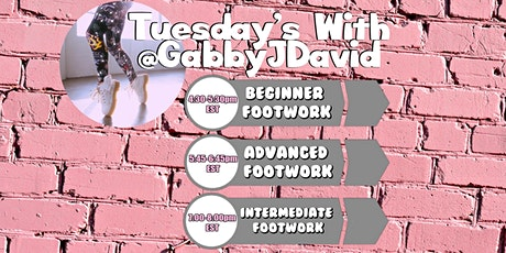Footwork with Gabby J David tickets