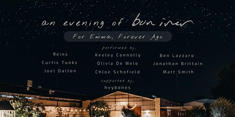 An Evening of Bon Iver tickets